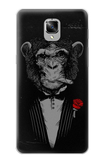 Printed Funny Monkey God Father OnePlus 3 Case