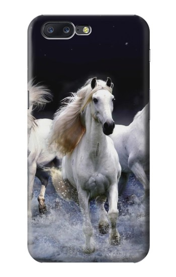 Printed White Horse Asus Zenfone 6 A600CG Case