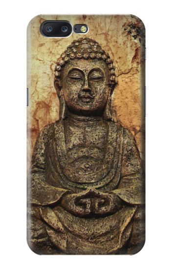 Printed Buddha Rock Carving Asus Zenfone 6 A600CG Case