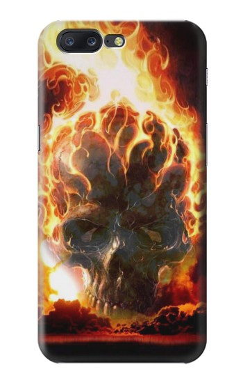 Printed Hell Fire Skull Asus Zenfone 6 A600CG Case