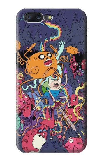 Printed Adventure Time Asus Zenfone 6 A600CG Case
