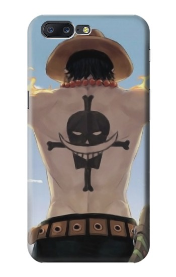 Printed One Piece Ace Back Whitebeard Pirates Tattoo Asus Zenfone 6 A600CG Case