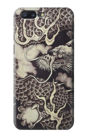 Printed Japan Painting Dragon Asus Zenfone 6 A600CG Case