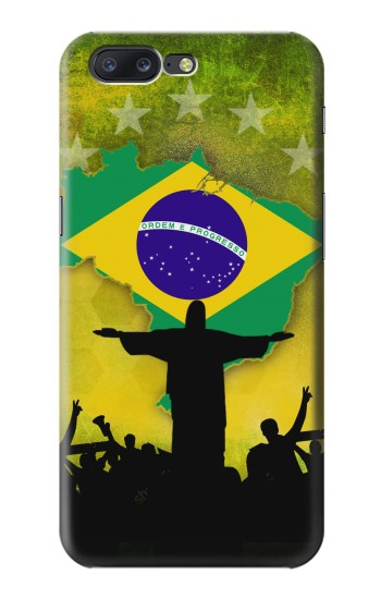 Printed Brazil Football Flag Asus Zenfone 6 A600CG Case