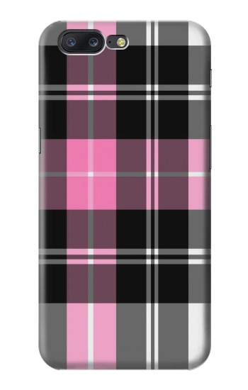 Printed Pink Plaid Pattern Asus Zenfone 6 A600CG Case