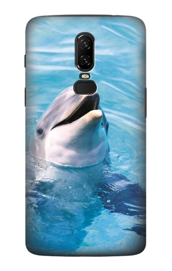 Printed Dolphin OnePlus 6 Case