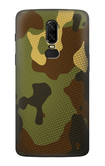 Printed Camo Camouflage Graphic Printed OnePlus 6 Case