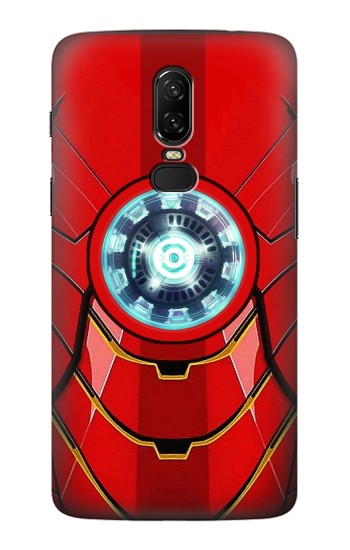 separation shoes 0962b 21335 Ironman Armor Arc Reactor Graphic Printed Phone Case for OnePlus 6