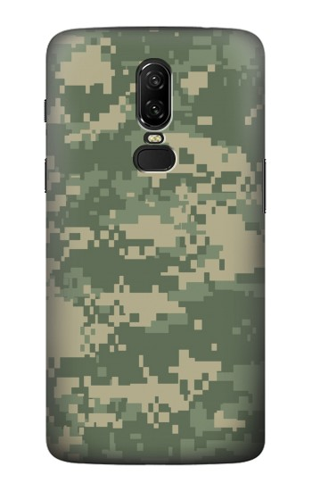 Printed Digital Camo Camouflage Graphic Printed OnePlus 6 Case