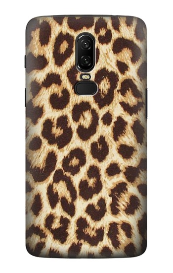 Printed Leopard Pattern Graphic Printed OnePlus 6 Case