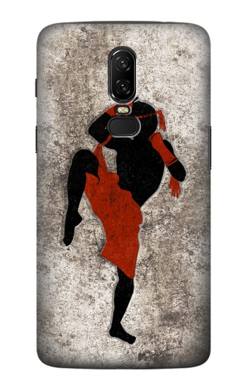 Printed Muay Thai Fight Boxing OnePlus 6 Case