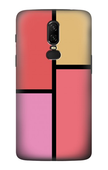 Printed Cheek Palette Color OnePlus 6 Case