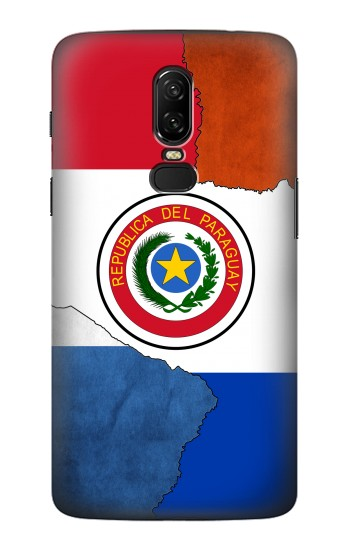 Printed Paraguay Flag OnePlus 6 Case