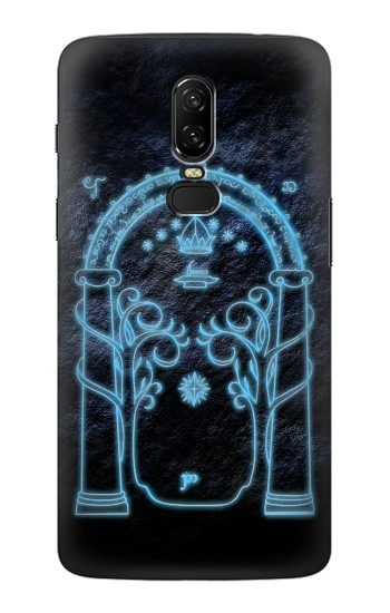 Printed Lord of The Rings Mines of Moria Gate OnePlus 6 Case