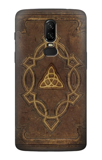 Printed Spell Book Cover OnePlus 6 Case