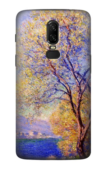 Printed Claude Monet Antibes Seen from the Salis Gardens OnePlus 6 Case