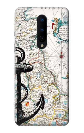 Printed Nautical Chart OnePlus 8 Case