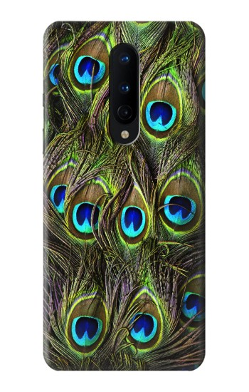 Printed Peacock Feather OnePlus 8 Case