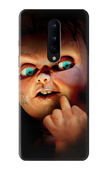Printed Chucky Middle Finger OnePlus 8 Case