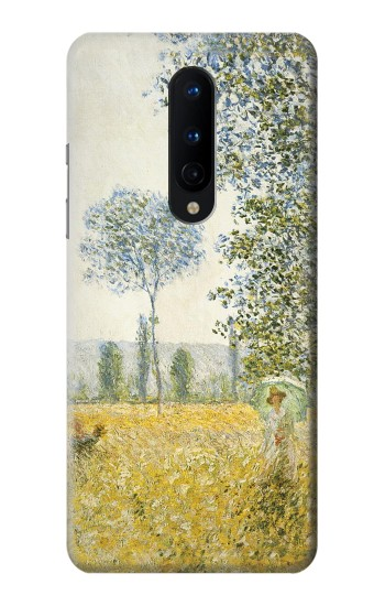 Printed Claude Monet Fields In Spring OnePlus 8 Case