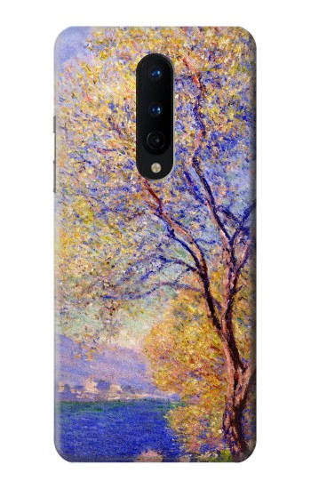 Printed Claude Monet Antibes Seen from the Salis Gardens OnePlus 8 Case