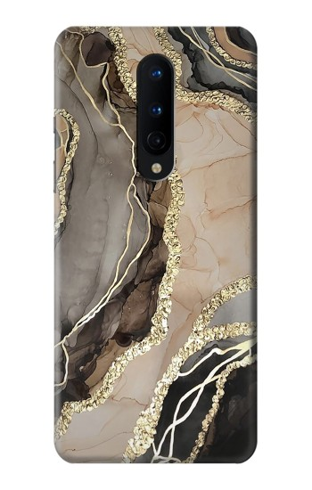 Printed Marble Gold Graphic Printed OnePlus 8 Case