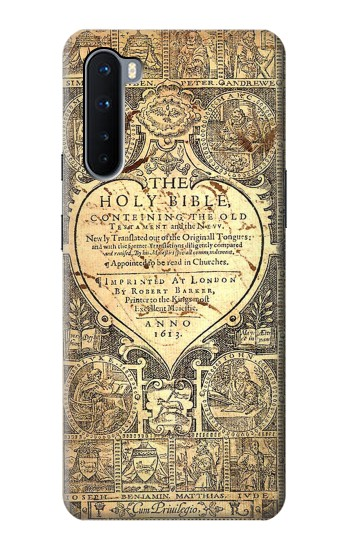 Printed Bible Page OnePlus Nord Case