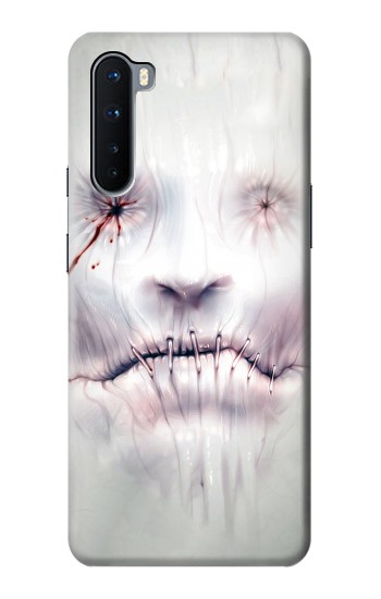Printed Horror Face OnePlus Nord Case