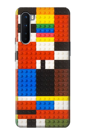 Printed Brick Toy Lego Graphic Printed OnePlus Nord Case