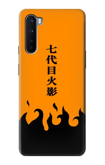 Printed Naruto 7th Hokage Cloak Orange OnePlus Nord Case