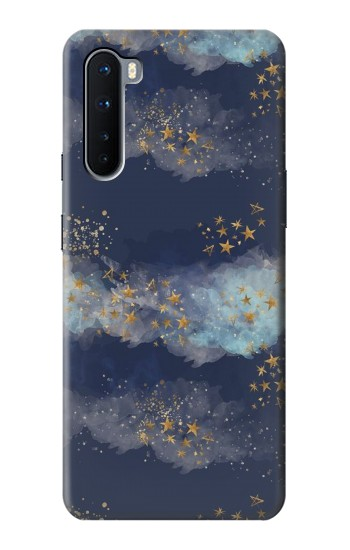 Printed Gold Star Sky OnePlus Nord Case