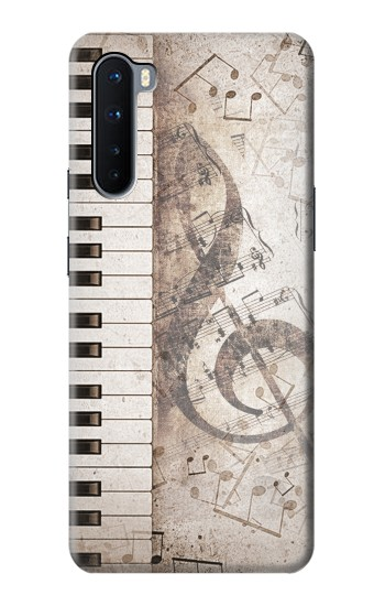 Printed Music Note OnePlus Nord Case