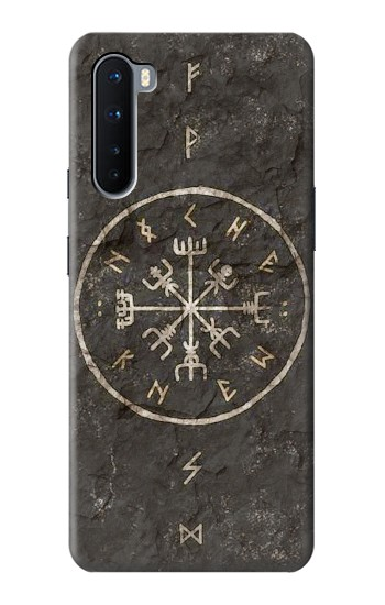 Printed Norse Ancient Viking Symbol OnePlus Nord Case