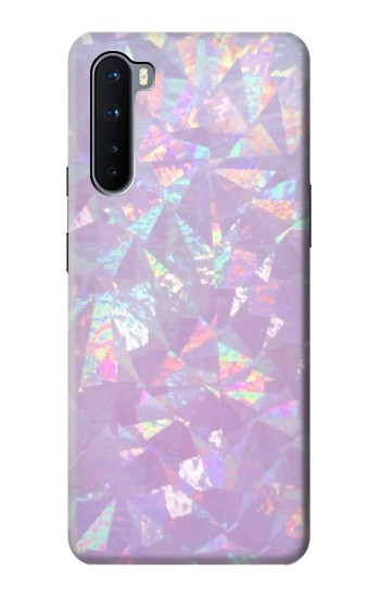 Printed Iridescent Holographic Photo Printed OnePlus Nord Case