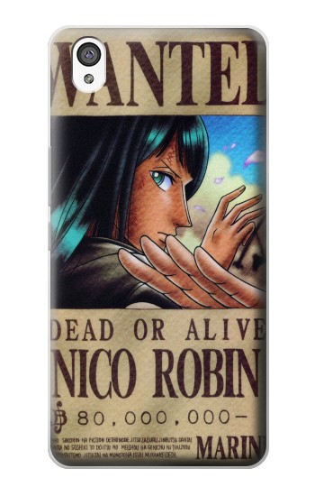 Printed One Piece Nico Robin Wanted Poster OnePlus X Case