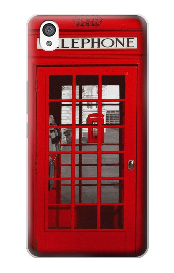 Printed Classic British Red Telephone Box OnePlus X Case