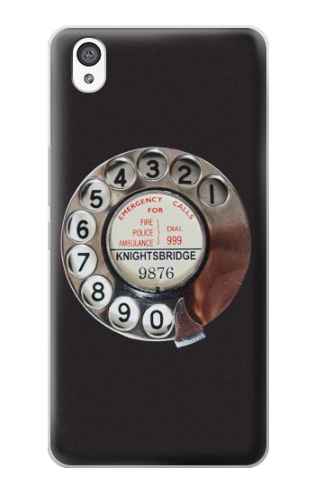 Printed Retro Rotary Phone Dial On OnePlus X Case