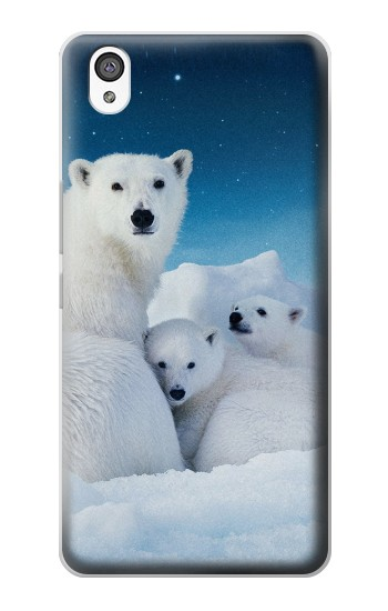 Printed Polar Bear Family Arctic OnePlus X Case