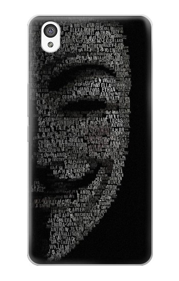 Printed V Mask Guy Fawkes Anonymous OnePlus X Case