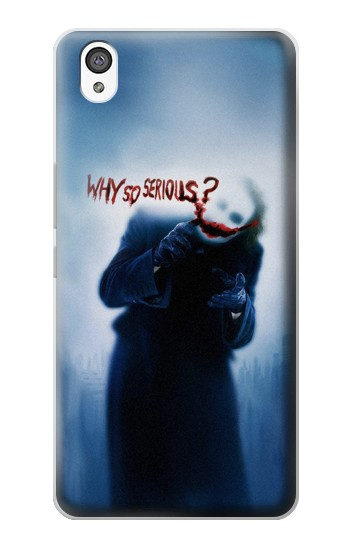 Printed Batman Joker Why So Serious OnePlus X Case
