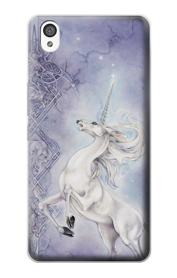Printed White Horse Unicorn OnePlus X Case