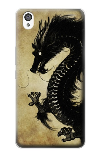 Printed Black Dragon Painting OnePlus X Case