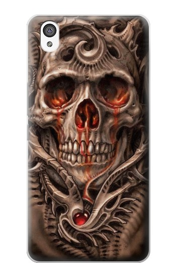 Printed Skull Blood Tattoo OnePlus X Case