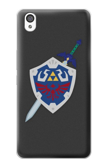 Printed Skyward Sword Hylian Shield Zelda OnePlus X Case
