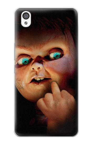 Printed Chucky Middle Finger OnePlus X Case