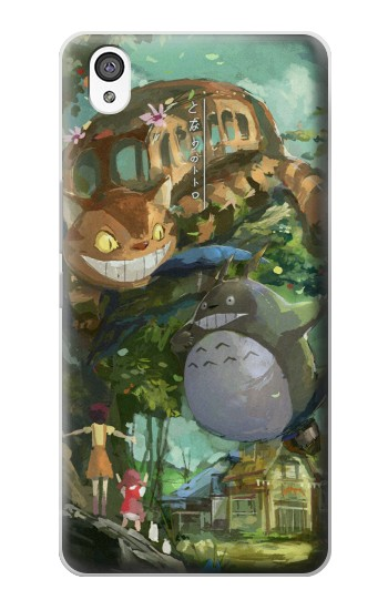 Printed My Neighbor Totoro Cat Bus OnePlus X Case