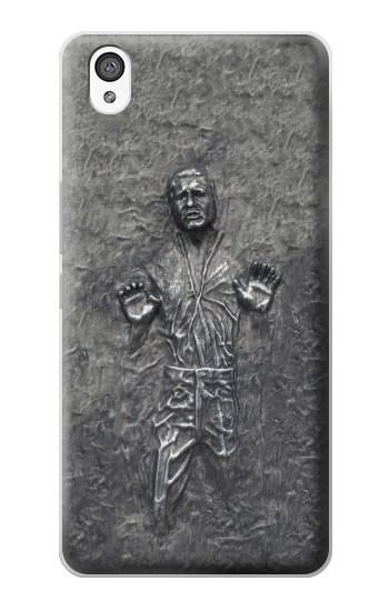 Printed Han Solo in Carbonite OnePlus X Case
