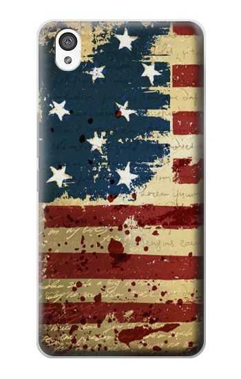 Printed Old American Flag OnePlus X Case