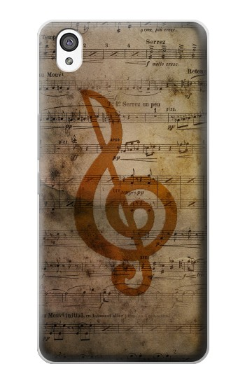 Printed Sheet Music Notes OnePlus X Case