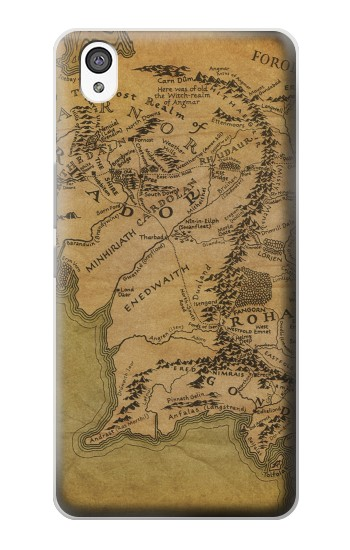 Printed The Lord Of The Rings Middle Earth Map OnePlus X Case